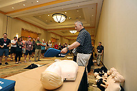 13 June 2017: CPR/AED/CCR with Pro Sports EMS at PHATS SPHEM Annual Meeting at the JW Marriott Desert Ridge in Phoenix, AZ.  Photo by:  ©ShellyCastellano/PHATS-SPHEM