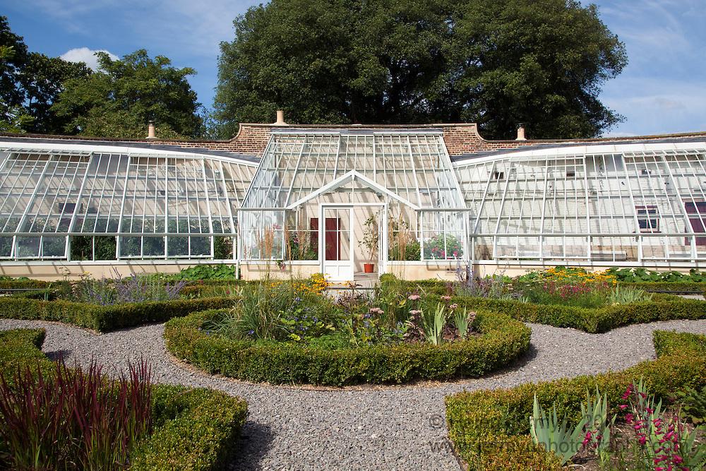 Glasshouse, walled garden, Fulham Palace