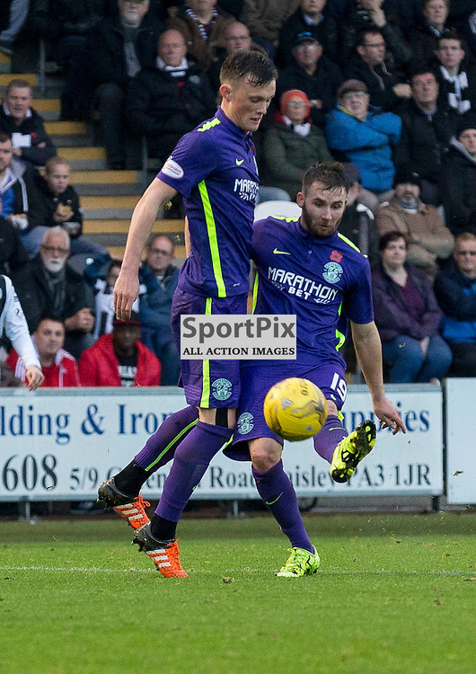 James Keatings (Hibernian) scores Hibs third goal during the Ladbrokes Championship match between St Mirren v Hibernian at St Mirren Park on Saturday 7 November 2015<br /> <br /> Picture: Alan Rennie
