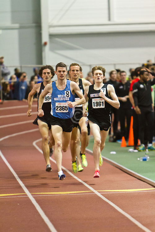 Boston University Terrier Invitational Indoor Track Meet: Eric Jenkins, David McCarthy, Riley Masters, Mens Elite Mile