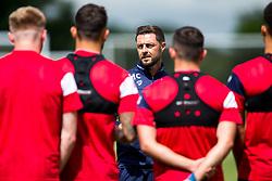 Assistant Head Coach Jamie McCallister looks on as Bristol City return for pre-season training ahead of the 2017/18 Sky Bet Championship Season - Rogan/JMP - 30/06/2017 - Failand Training Ground - Bristol, England - Bristol City Training.