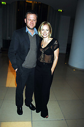 MARIELLA FROSTRUP and JASON McCUE at 'Not Another Burns Night' in association with CLIC Sargebt and Children's Hospice Association Scotland held at ST.Martins Lane Hotel, London on 3rd March 2008.<br />