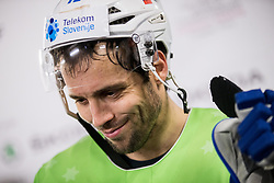 David Rodman of Slovenia after the 2017 IIHF Men's World Championship group B Ice hockey match between National Teams of Slovenia and Norway, on May 9, 2017 in Accorhotels Arena in Paris, France. Photo by Vid Ponikvar / Sportida