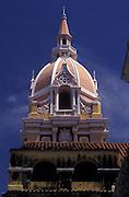 Cathedral spire, Colombia. Cartagena.