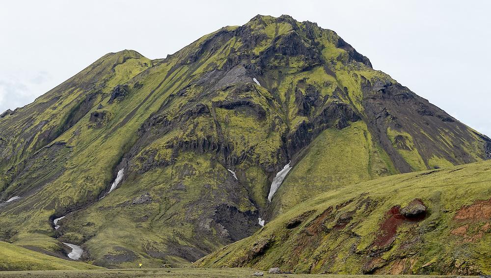 09-07-2014 ISL: Iceland Diabetes Challenge Dag 5, Emstrur<br /> Van Alftavatn naar Emstrur / Natuur, berg