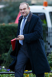 © licensed to London News Pictures. London, UK 14/01/2014. Energy and Climate Secretary Ed Davey attending to a cabinet meeting on Downing Street on Tuesday, 14 January 2014. Photo credit: Tolga Akmen/LNP