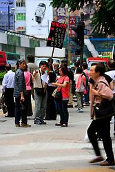 CHINA HONG KONG 27MAY10 - Street view of Causeway Bay in Hong Kong...jre/Photo by Jiri Rezac..© Jiri Rezac 2010