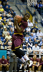 February 27, 2010; Berkeley, CA, USA;  Arizona State Sun Devils guard Ty Abbott (3) grabs a rebound against the California Golden Bears during the first half at Haas Pavilion. California defeated Arizona State 62-46.