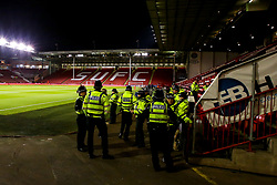 A general view of Bramall Lane, home of Sheffield United, as Police prepare ahead of the Steel City Derby - Mandatory by-line: Robbie Stephenson/JMP - 09/11/2018 - FOOTBALL - Bramall Lane - Sheffield, England - Sheffield United v Sheffield Wednesday - Sky Bet Championship