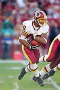 LANDOVER, MD - NOVEMBER 26:  Running back Ladell Betts #46 of the Washington Redskins runs the ball (24 carries for 104 yards) against the Carolina Panthers at FedExField on November 26, 2006 in Landover, Maryland. The Redskins defeated the Panthers 17-13. ©Paul Anthony Spinelli *** Local Caption *** Ladell Betts