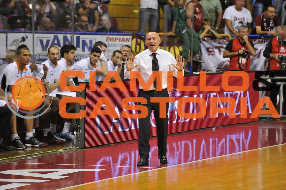 DESCRIZIONE : Venezia Lega A 2014-15 Umana Reyer Venezia Acea Roma<br /> GIOCATORE : dalmonte<br /> CATEGORIA :  delusione<br /> SQUADRA : Umana Reyer Venezia Acea Roma<br /> EVENTO : Campionato Lega A 2014-2015<br /> GARA : Umana Reyer Venezia Acea Roma<br /> DATA : 19/10/2014<br /> SPORT : Pallacanestro<br /> AUTORE : Agenzia Ciamillo<br /> Galleria : Lega Basket A 2014-2015 <br /> Fotonotizia : Venezia Campionato Italiano Lega A 2014-15 Umana Reyer Venezia Acea Roma<br /> Predefinita :