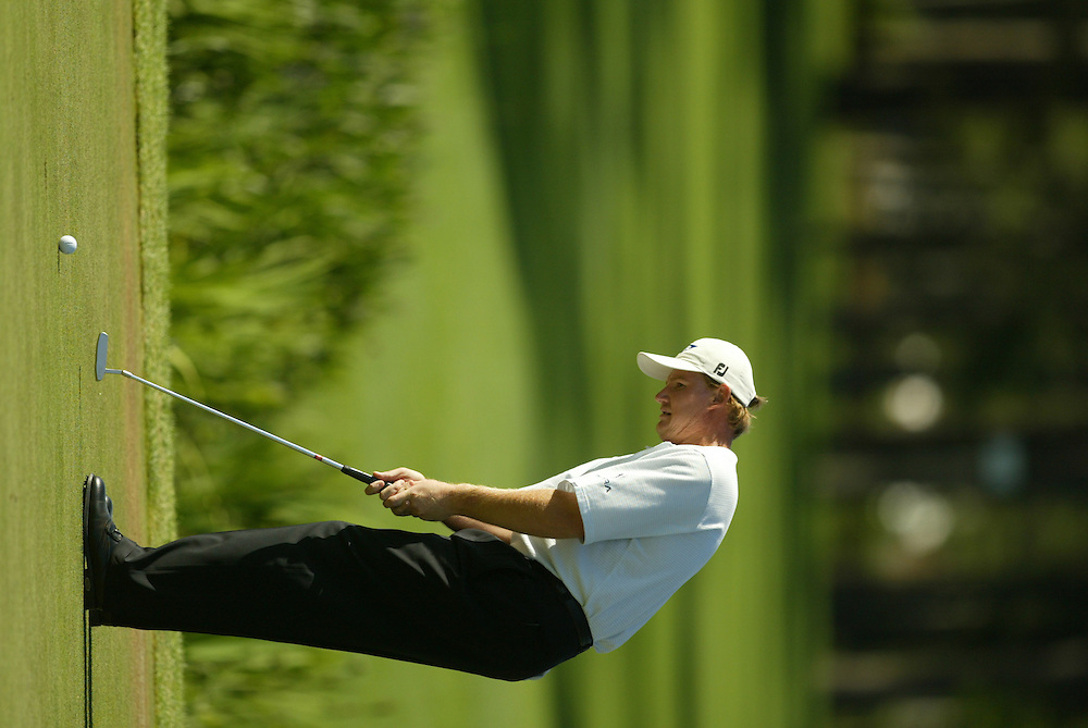 2003 Shell Houston Open..Second Round..April 25, 2003..Redstone Golf Club, Houston TX..Photograph by Darren Carroll