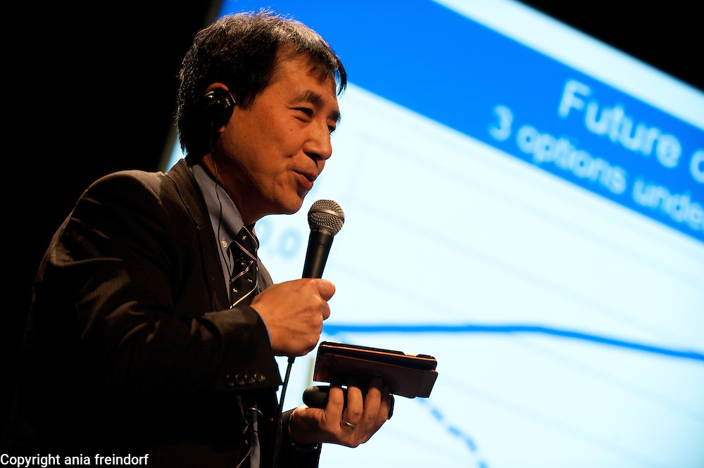 """Conference """"Fukushima, nuclear accident - four years later"""", Green Cross Paris, France, Tetsunari Lida, Director of ISEP,"""