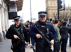APR 16 2013 Police Patrol near Parliament Square