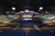 "LAS VEGAS, NEVADA, MAY 24, 2008: The arena sits empty ahead of ""UFC 84: Ill Will"" inside the MGM Grand Garden Arena in Las Vegas"