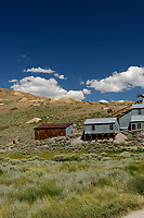 Bodie Ghost Town Gold Mine Panorama. One of seven portrait images taken with a Nikon D3s camera and 50 mm f/1.4G lens (ISO 800, 50 mm, f/16, 1/200 sec). Raw images processed with DxO and the panorama created using AutoPano Giga Pro.