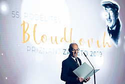 Miroslav Cerar at 55th Annual Awards of Stanko Bloudek for sports achievements in Slovenia in year 2018 on February 4, 2020 in Brdo Congress Center, Kranj , Slovenia. Photo by Grega Valancic / Sportida