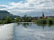 Falken (Dorf) bei Treffurt, Werra, Thüringen, Deutschland   Falken (village) near Treffurt, Thuringia, Germany