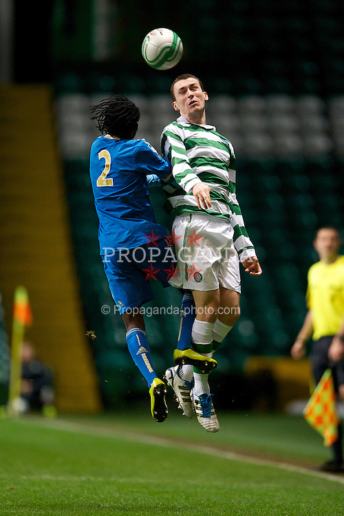 GLASGOW, SCOTLAND - Wednesday, December 7, 2011: Glasgow Celtic's Joe Chalmers in action against Olympique de Marseille during the NextGen Series Group 1 match at Celtic Park. (Pic by David Rawcliffe/Propaganda)