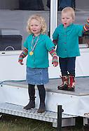 Savannah Phillips  & Isla Phillips At  Gatcombe Horse Trials
