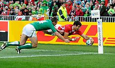 Wellington-Rugby, RWC, Ireland v Wales