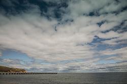 Beautiful day by the sea in Montauk, NY