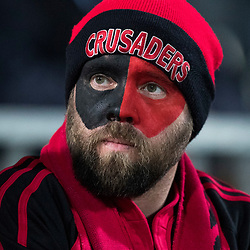 Crusaders Fan during game 3 of the British and Irish Lions 2017 Tour of New Zealand,The match between  Crusaders and British and Irish Lions, AMI Stadium, Christchurch, Saturday 10th June 2017<br /> (Photo by Kevin Booth Steve Haag Sports)<br /> <br /> Images for social media must have consent from Steve Haag
