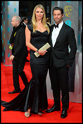 Jodie Kidd arrive for the EE BRITISH ACADEMY FILM AWARDS 2014 (BAFTA) at the The Royal Opera House in Covent Garden . London, United Kingdom. Sunday, 16th February 2014. Picture by Andrew Parsons / i-Images