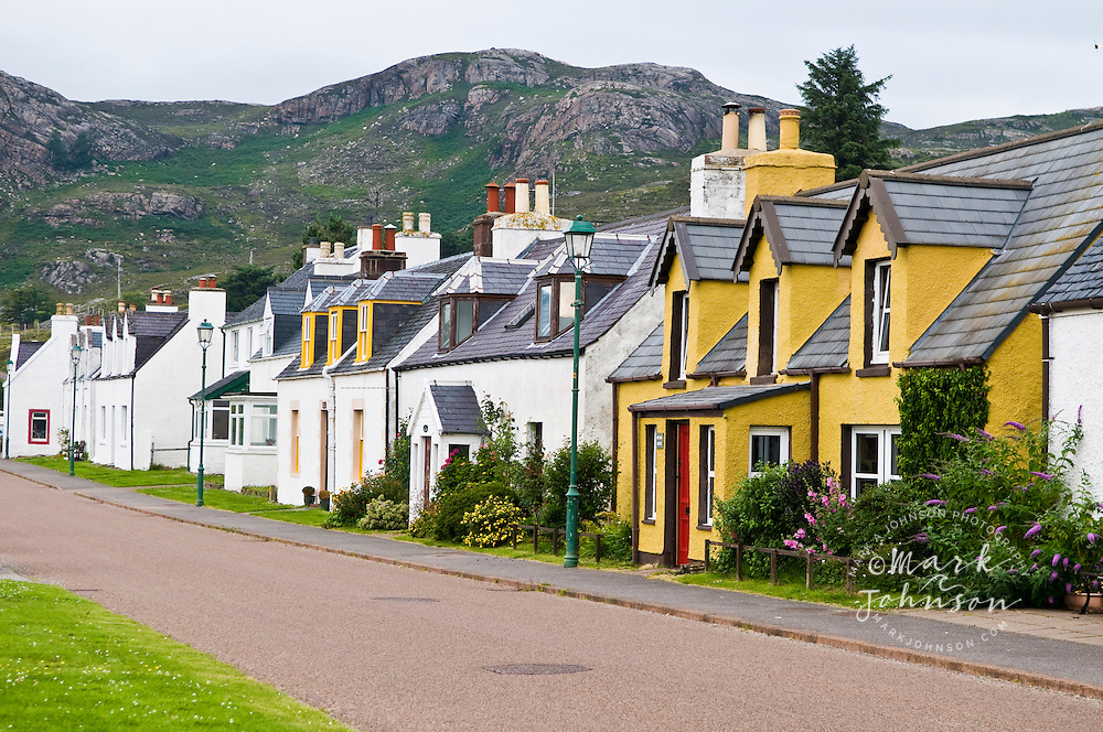 The village of Shieldaig, Scotland, UK