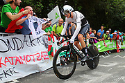 Christopher Froome (GBR - Team Sky) during the 105th Edition of Tour de France 2018, cycling race stage 20, time trial, Saint Pee sur Nivelle - Espelette (31 km) on July 28, 2018 in Espelette, France - Photo Kei Tsuji / BettiniPhoto / ProSportsImages / DPPI