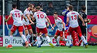 ANTWERP - BELFIUS EUROHOCKEY Championship.   England v Wales (2-2)  men .  James Gall (Eng) scored and celebrating de goal. WSP/ KOEN SUYK