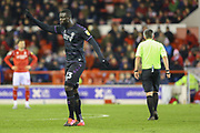 Charlton Athletic defender Mouhamadou-Naby Sarr  during the EFL Sky Bet Championship match between Nottingham Forest and Charlton Athletic at the City Ground, Nottingham, England on 11 February 2020.
