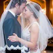 Justin & Annie Wedding Album Samples | Rayne Memorial United Methodist Church & The Royal Sonesta | 1216 Studio Wedding Photography