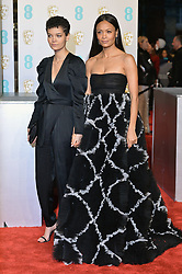 February 11, 2019 - London, New York, United Kingdom of Great Britain and Northern Ireland - Thandie Newton (R) and Ripley Parker arriving at the EE British Academy Film Awards on at the Royal Albert Hall on February 10 2019 in London, England  (Credit Image: © Famous/Ace Pictures via ZUMA Press)