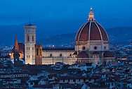 Europe, Italy, Tuscany, Toscana, Firence, Florence,Cathedral of Saint Mary of the Flower<br /> Cattedrale di Santa Maria del Fiore