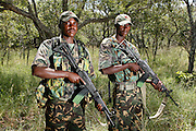 Nkwe Wildlife Security Services based in the Lapalala Wilderness Area, Limpopo, South Africa..© Zute Lightfoot