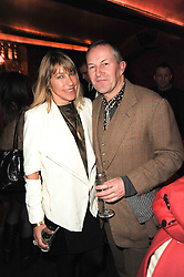 MAIA NORMAN and NICK ASHLEY at a party to re-launch Downstairs at Momos, Momos, Heddon Street, London on 22nd February 2010.