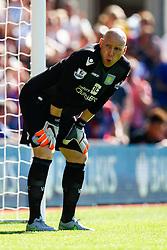 Brad Guzan of Aston Villa - Mandatory byline: Jason Brown/JMP - 07966386802 - 22/08/2015 - FOOTBALL - London - Selhurst Park - Crystal Palace v Aston Villa - Barclays Premier League