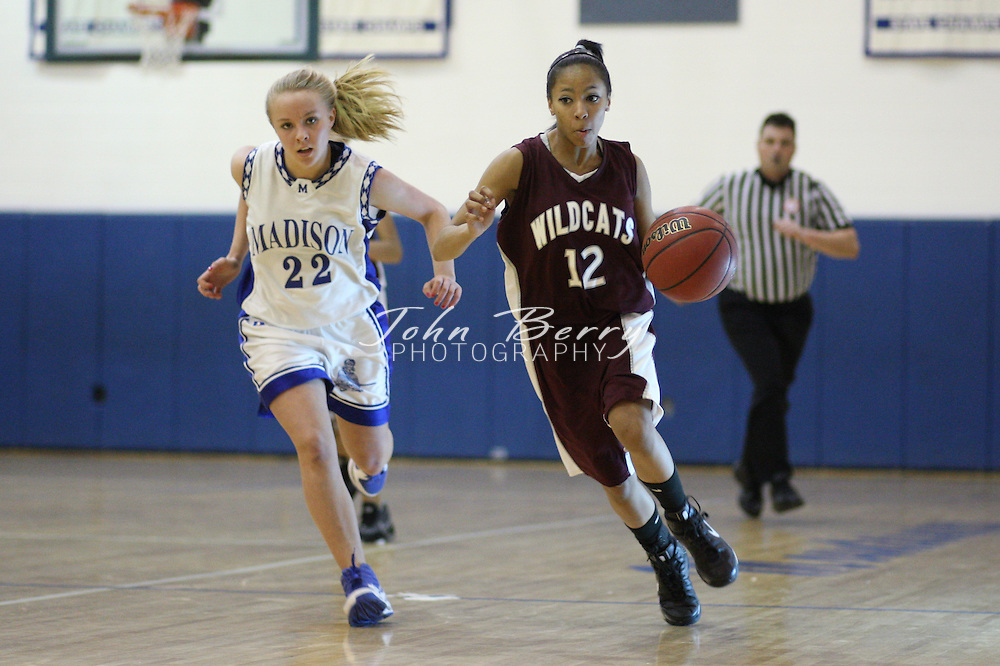 Date:  January/25/10, MCHS JV Girls Basketball vs Warren County Wildcats,
