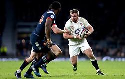 Matt Mullan of England - Mandatory by-line: Robbie Stephenson/JMP - 04/02/2017 - RUGBY - Twickenham - London, England - England v France - RBS Six Nations