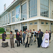 "Making movies in North Korea<br /> The films Kim Jong-Un DOES approve of... but would you want to watch Urban Girl Comes To Get Married or The Bloodstained Route Map?<br /> <br /> Kim Jong Il was a huge fan of cinema and so the people of North Korea have become avid moviegoers. The deceased Dear Leader had a certain respect for this medium, allegedly calling it the ""most powerful for educating the masses"".<br /> <br /> He went as far as to write an essay called ""Theory of Cinematic Art"" in which he explains that ""it is cinema's duty to turn people into true communists"".  For him, film was ""a means of eradicating capitalist elements"". It is in fact an effective means of diffusing propaganda, especially towards the youth. That is why there is a state-run movie studio in Pyongyang.<br /> <br />  <br /> <br /> Kim Jong Il was said to have thousands of films in his personal library and to have 7 theaters built exclusively for him in Pyongyang. Apart from the main studio (Korean Film Studio), other studios have been built in the periphery of the capital. <br /> <br /> Kim Jong Il apparently shot a movie about the founder of North Korea, his father Kim Il-Sung, and proclaimed himself a ""genius of cinema""!<br /> <br /> He even had famous South Korean director, Shin Sang-Ok, and his wife kidnapped in 1978 by the North Korean secret service. He then ordered the famous director from South Korea to make movies for him, providing him with all the money he needed to produce them. He directed more than 20 movies, many of them propaganda. The director was then jailed for having tried to escape. They couple finally managed to successfully flee in 1986. The following year, the Pyongyang Film Festival of Non-Aligned and Other Developing Countries began. Facing a lack of participating countries, it opened later to ""aligned countries"" like France, Germany and Great Britain.<br /> <br />  <br /> <br /> Famous actors are depicted on murals around the capitol and even on official currency. North Korean films tend to portray mostly communist and revolutionary themes"