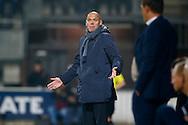 30-10-2015 VOETBAL:HERACLES ALMELO-WILLEM II:ALMELO<br /> <br /> Trainer/Coach Jurgen Streppel van Willem II teleurgesteld <br /> <br /> Foto: Geert van Erven