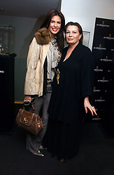 CHRISTINA ESTRADA JUFFALI and her mother CHANTELLE LEE at a lunch hosted by Fawaz Gruosi to celebrate the launch of De Grisogono's latest watch 'Be Eight' held at Nobu, 19 Old Park Lane, London W1 on 30th November 2006.<br />