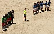 Football-FIFA Beach Soccer World Cup 2006 - Group C- Uruguay - Cameroon, Beachsoccer World Cup 2006. - Rio de Janeiro - Brazil 06/11/2006. Mandatory credit: FIFA/ Manuel Queimadelos