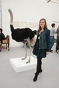 JOANNA STELLA-SAWICKA, opening of the 2010 Frieze art fair. Regent's Park. London. 13 October 2010. -DO NOT ARCHIVE-© Copyright Photograph by Dafydd Jones. 248 Clapham Rd. London SW9 0PZ. Tel 0207 820 0771. www.dafjones.com.
