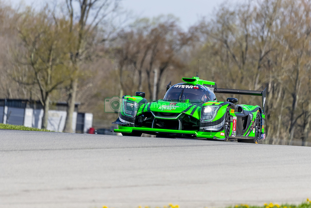 May 4, 2018 - Lexington, Ohio, United States of America - The Tequila Patron Nissan DPI car races through the turns at the Acura Sports Car Challenge at Mid Ohio Sports Car Course Lexington, Ohio. (Credit Image: © Walter G Arce Sr Asp Inc/ASP via ZUMA Wire)