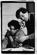 Tony Wilson and Peter Saville, London 1980