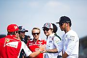 September 4-7, 2014 : Italian Formula One Grand Prix - Lewis Hamilton (GBR), Mercedes Petronas, Fernando Alonso (SPA), Ferrari