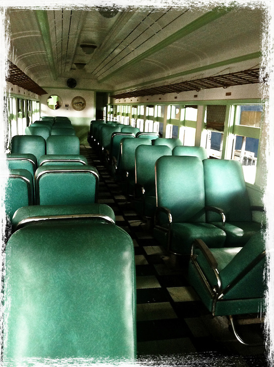 interior of old train car, cellphone photography,Iphone pictures,smartphone pictures