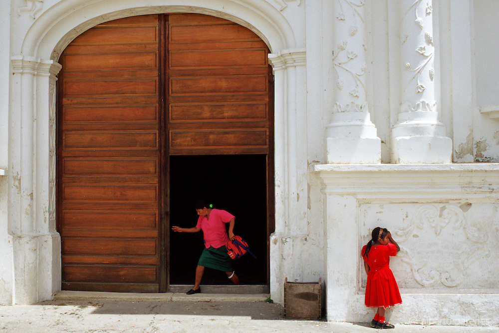 HONDURAS / Lempira / La Campa. Parish church. The town is a center of Lenca pottery production...